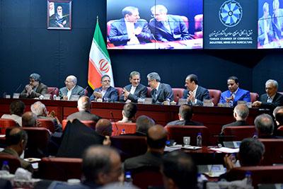 برگزاری چهارمین نشست هیات نمایندگان اتاق تهران
